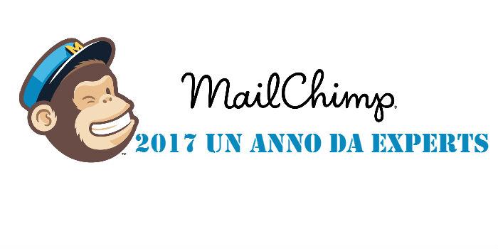MailChimp 2017 un anno da Experts