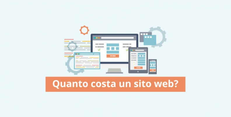 Quanto costa fare un sito professionale for Quanto costa abbaiare un mantello